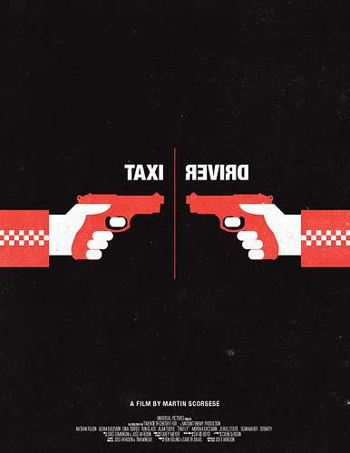 Two-Toned Movie Prints - Olly Moss Gives Film Posters a Minimalistic Spin