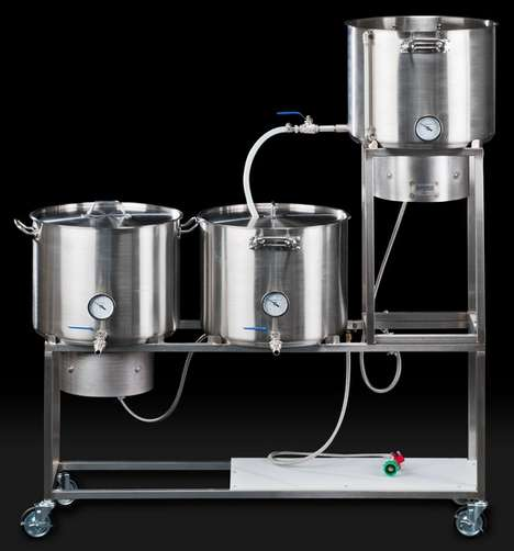 Personal Pilsner Production Kits - The Brewing Stand Helps You Brew Your Own Beer Like a Pro