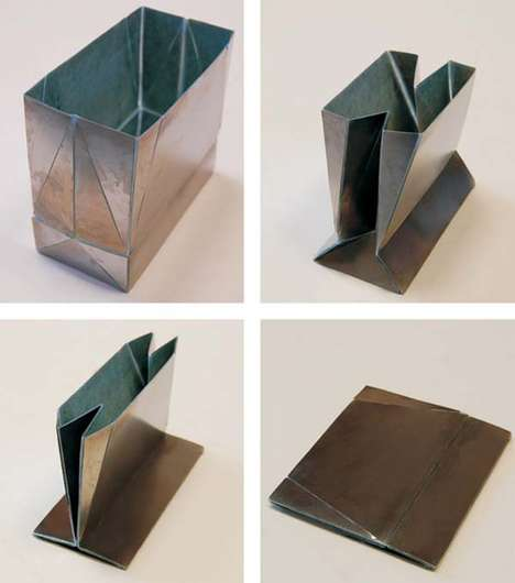 Metal Origami Bags