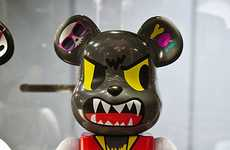 Animal Hybrid Toys - The Bearbrick Wolf Brings the Wolfman Back to Designer Playthings