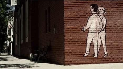 Animated Graffiti Ads