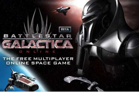 Online Sci-Fi Show Promos - Battlestar Galactica Online Game Pays Homage to TV Series