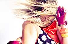 Vibrant Pop Art Photoshoots - The Ziv Sade Andy Worholl Homepage Shoot is Full of Bright Colors