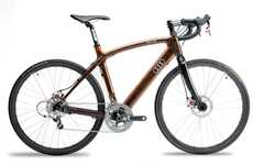 Timber Two-Wheelers - Audi Renovo Duo Bicycles Have Handsome Hardwood Frames