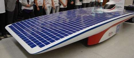 Solar Racing Cars - The Eolian2 is Another Great Achievement by The University of Chile