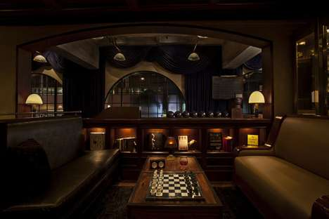 Swanky Bowling Lounges
