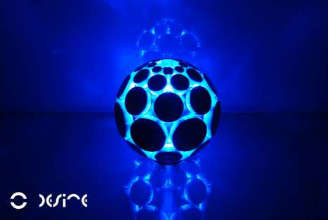 Glowing Sound Orbs