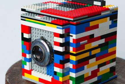 Toy Brick Picture Cameras