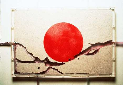 Yukinori Yanagi Harbors a Colony of Ants in Country Flags
