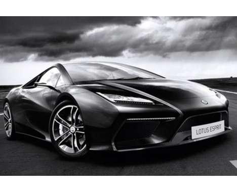 50 Jet-Black Supercars