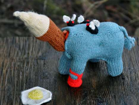 Monstrous Knit Designs - Badass Needler Tracy Widdess is Skilled at Brutal Knitting