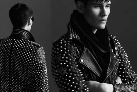 Embellished Stud Photography - Get a Dose of Badass With the Beat Poet AW 2011 Collection