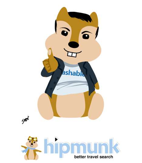 The 'Hipmunk Me!' Campaign Turns the User into a Mascot