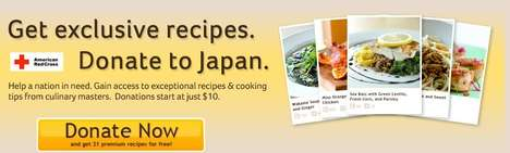 Digital Cookbook Charities