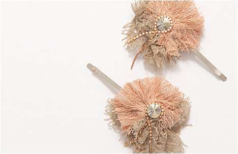 Perfectly Peach Collections - The Tamar Gartenberg Accessory Line is Peachy-Keen