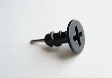 The Screw Push Pin is Industrial-Chic