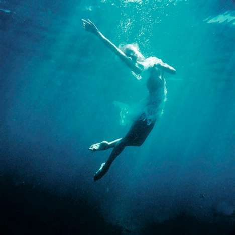 Submerged Dancer Photography