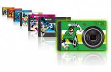 Superhero Cameras - The DC Super Heroes RS1500 Collector Pack Will Enhance Your Camera