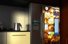 Touch-Screen Fridges