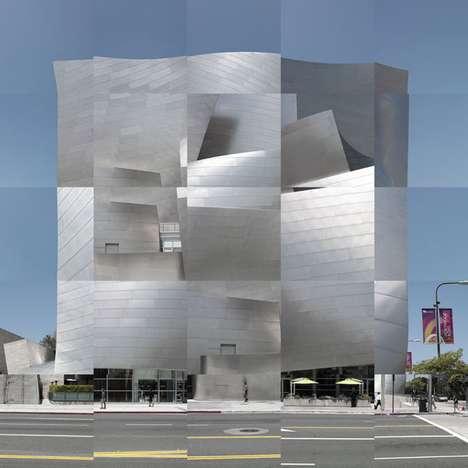Distorted Architectural Art