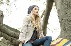Free-Spirited Photoshoots - The O'Neill Holiday 2011 Lookbook Features Native American Styles