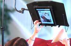 Hands-Free Tablet Holders - The Levo Kindle and iPad Stand Gives Your Arms a Rest