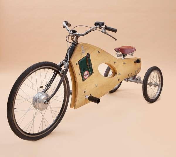 Wooden Eco Trikes Fernando Ponce