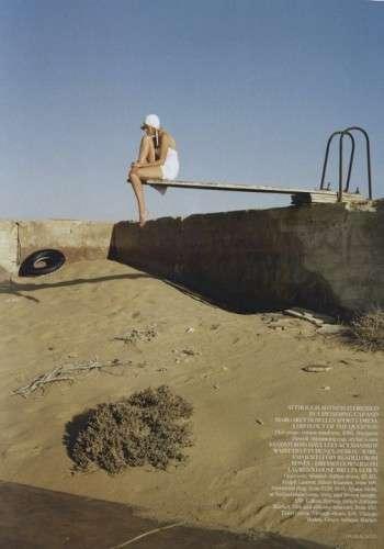 Scorching Desert Photoshoots
