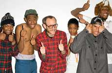 Hip Hop Crew Captures - The Terry Richardson Odd Future Series Shows the Hottest Collective in Music