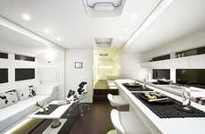 Benz-Branded Mobile Homes - The Ketterer Continental is a Mobile Mansion