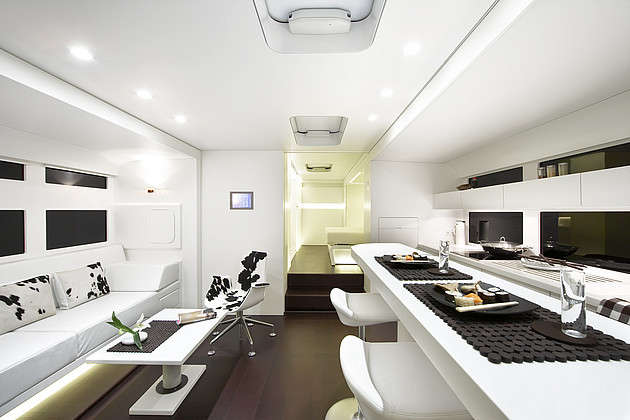 Benz-Branded Mobile Homes