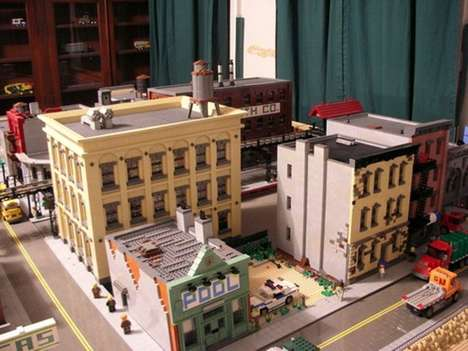 Tiny Toy Cities - Jonathan Lopes is Recreating Brooklyn out of LEGO Blocks
