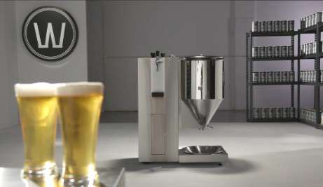 Effortless Beer-Brewing Appliances - The WilliamsWarn Personal Brewery for DIY Draughts