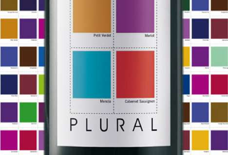 Color Swatch Liquor Labels