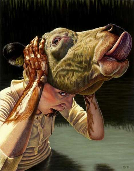 Grotesque Animalistic Portraits