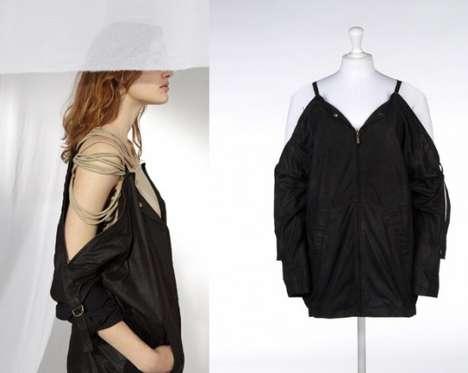 Shoulder-Strapped Coats
