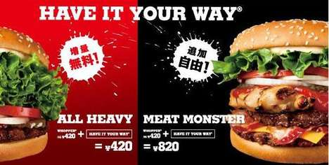 Meat-Lover Burgers