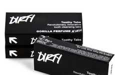 Oral Tablet Freshners - LUSH Dirty Toothy Tabs Eliminate the Use of Toothpastes