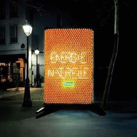 Orange-Powered Billboards