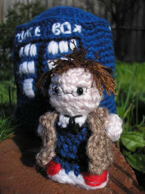 Sci-Fi Series Yarn Toys - These 'Doctor Who' Crochets are Must-Haves for True Fans