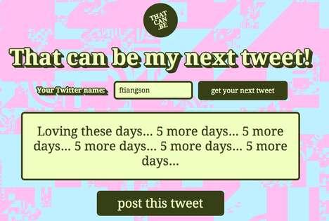 Tweet-Generating Websites