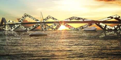 Beachfront Bridge Abodes