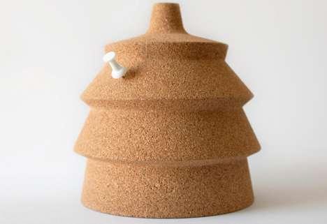 Conical Illuminating Corkboards