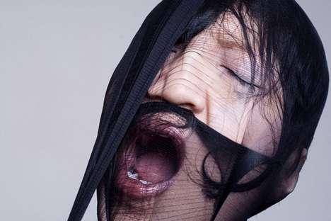 Trapped Nylon Photography