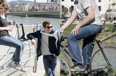 "Versatile City Seats - The Undpartner Bike Accessory Also Doubles as ""Wear-It-Yourself"" Furniture"