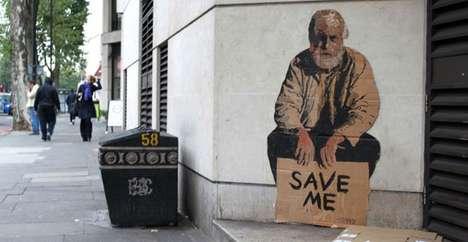 Poverty-Focused Graffiti