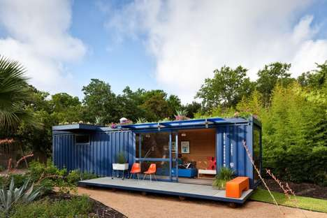 Sustainable Shipping Shelters