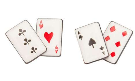 Card Shark Cufflinks