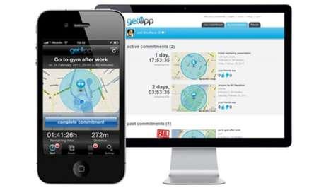 Location-Based Motivation Apps