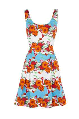 Electric Floral Frocks - Warehouse Floral Dresses Will Make Your Eyes Pop